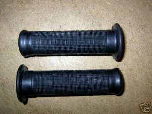 "Handlebar grips, Classic Type, for 7/8"" Bars, Triumph, BSA"